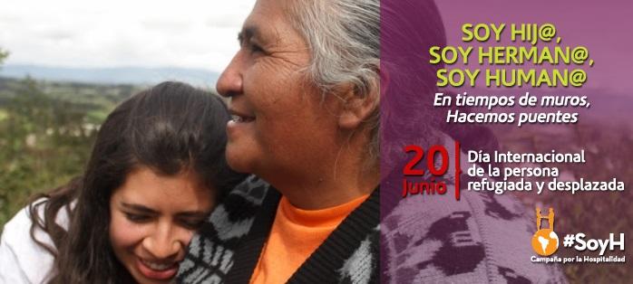 Declaración en ocasión al Día Mundial de la Persona Refugiada y Desplazada