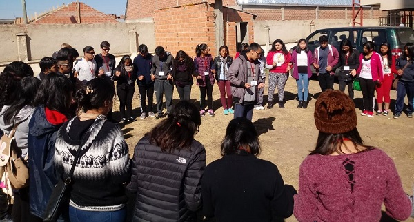 Movida Juvenil: Encuentro Trinacional JFR en El Alto