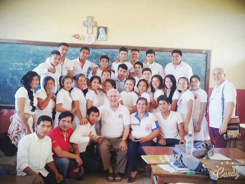 San Borja recibió la visita del Director Nacional de Fe y Alegría