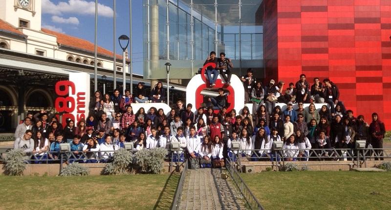 Encuentro intercultural con el migrante, 10 años de Jóvenes Rompiendo Fronteras