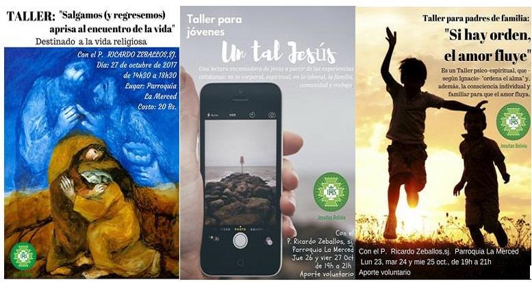 P. Ricardo Zeballos brindará ciclo de talleres en Santa Cruz