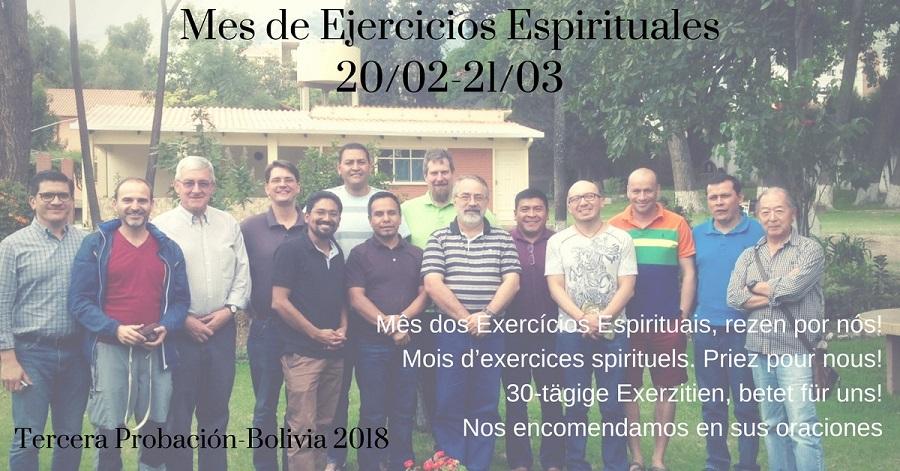 Tercera Probación en Ejercicios Espirituales