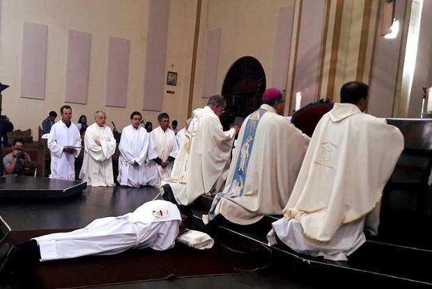 Nuestro compañero Daniel Mercado SJ fue ordenado presbítero