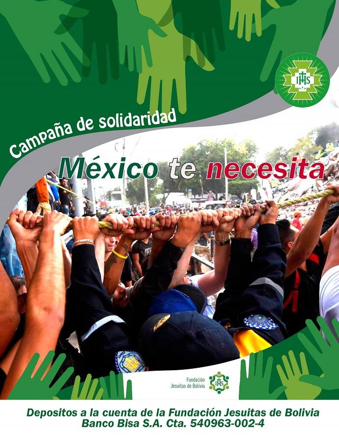 Campaña ¡México te necesita!